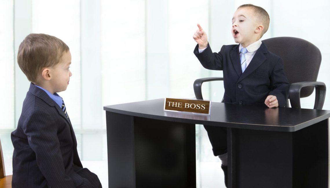 Boy boss making a point-9-19